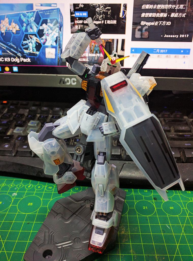 HGUC RX-178 Gundam MK.II (奧干規格) Revive - 彩透版