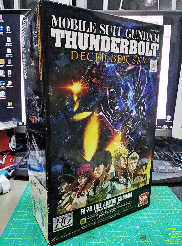HGTB FA-78 全武裝高達 – Thunderbolt ver.【劇場限定】