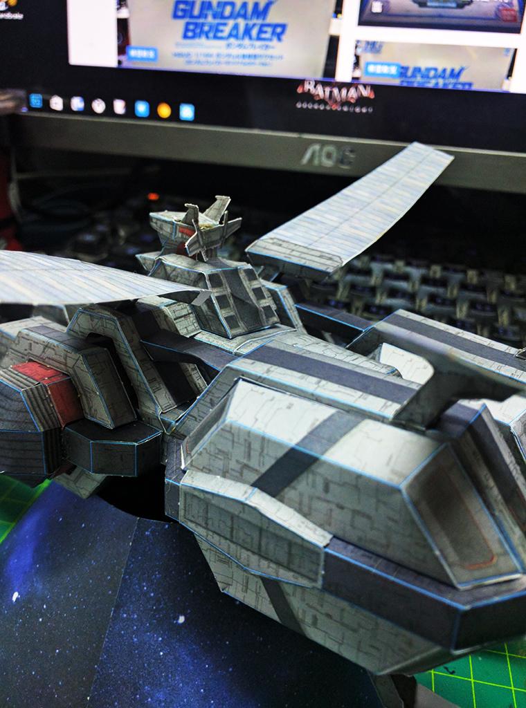 紙模 E.F.S.F 飛馬級突擊登陸艦 斯巴達