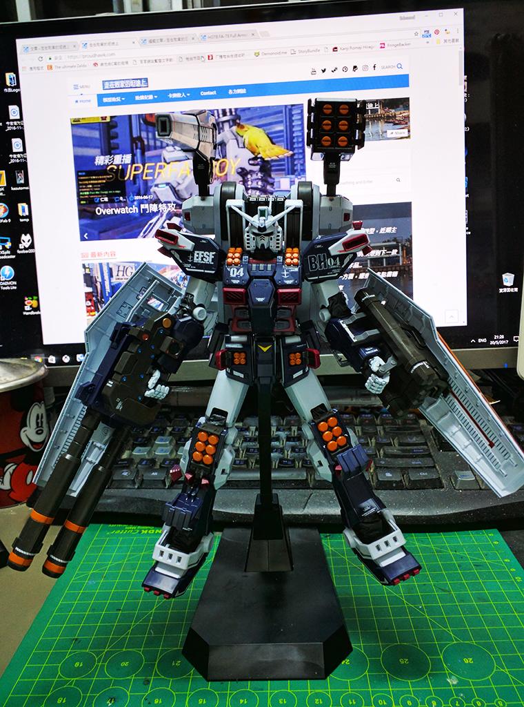 [Project-78] MG FA-78 全武裝高達 [Thunderbolt] Ver. Ka