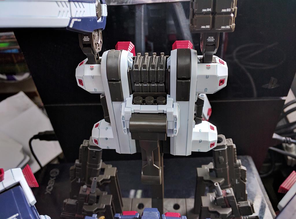 MG 武器 & Armor Hanger for 全武裝高達 [Thunderbolt] Ver. Ka