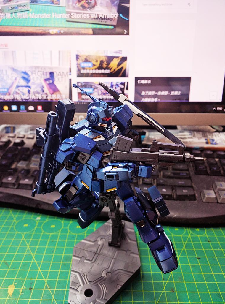 HGUC RX-80PR Pale Rider [陸戰重武裝形態] Hades模式 Extra Finish版本【Expo限定】