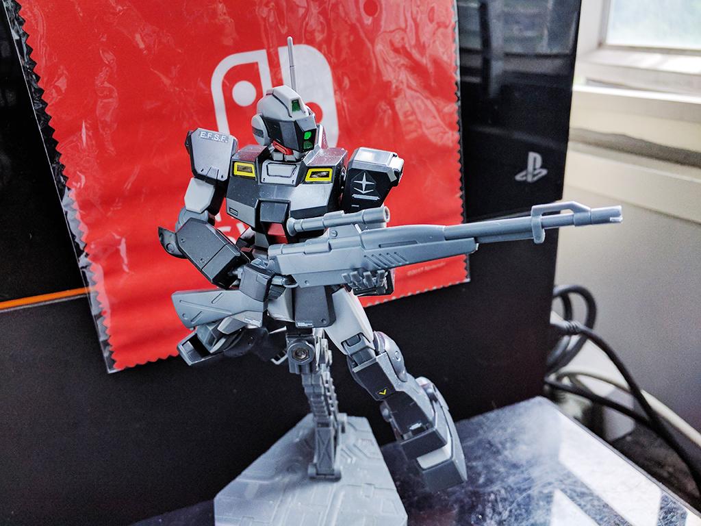 HGUC RGM-79SP GM Sniper II (里德・伍爾夫 專用機)