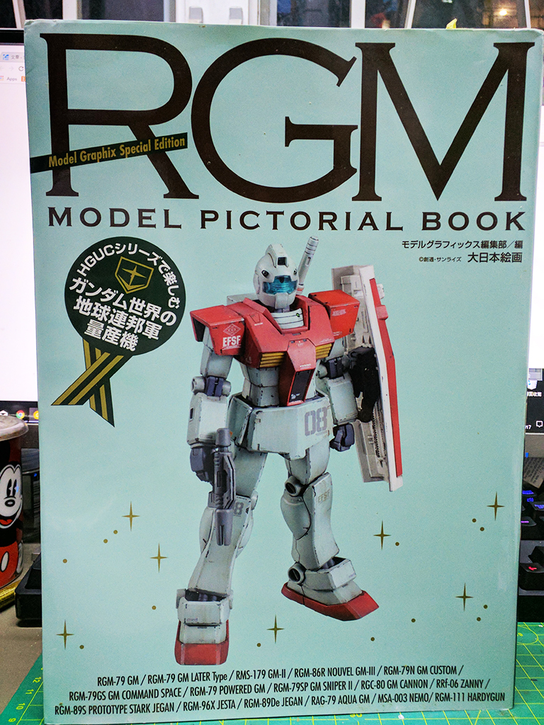 RGM Model Pictorial Book