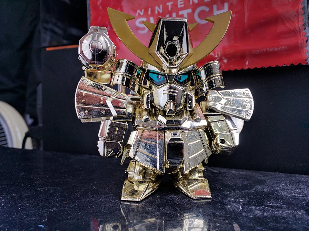 元祖SD高達 R018 – 武者ZZ高達 Special Gold Version
