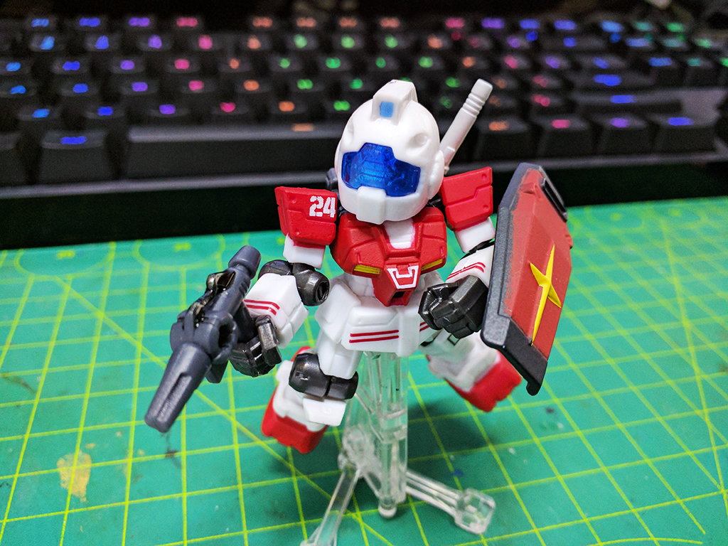 Mobile Suit Ensemble RGM-79 GM (真實配色)