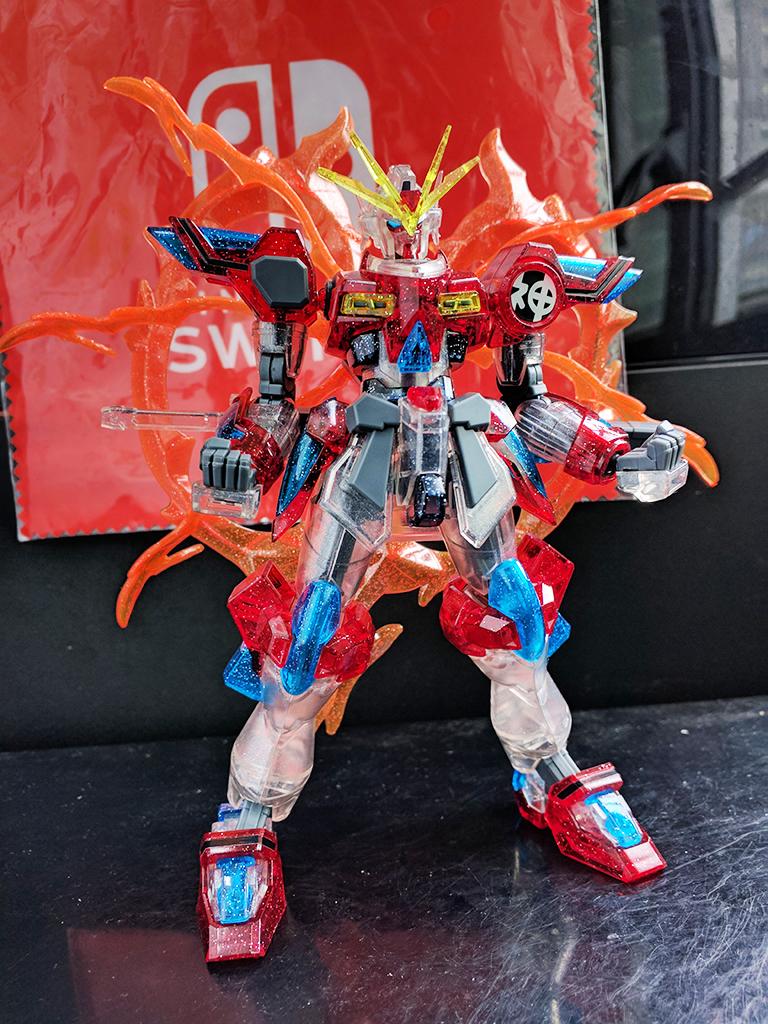 HGBF Kamiki Burning Gundam [Plavsky粒子透明]【活動限定】