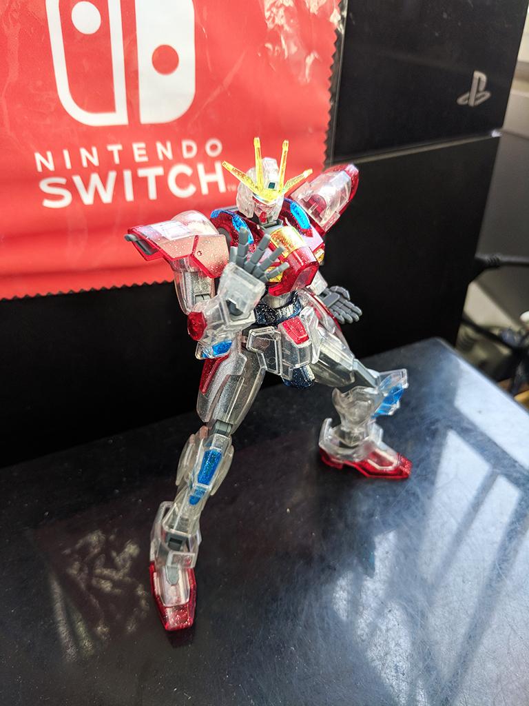HGBF Build Burning Gundam [Plavsky粒子透明]