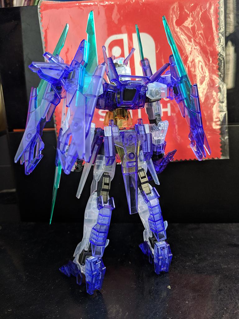 HGBD Gundam AgeII Magnum (彩透)【New Gundam Breaker限定】