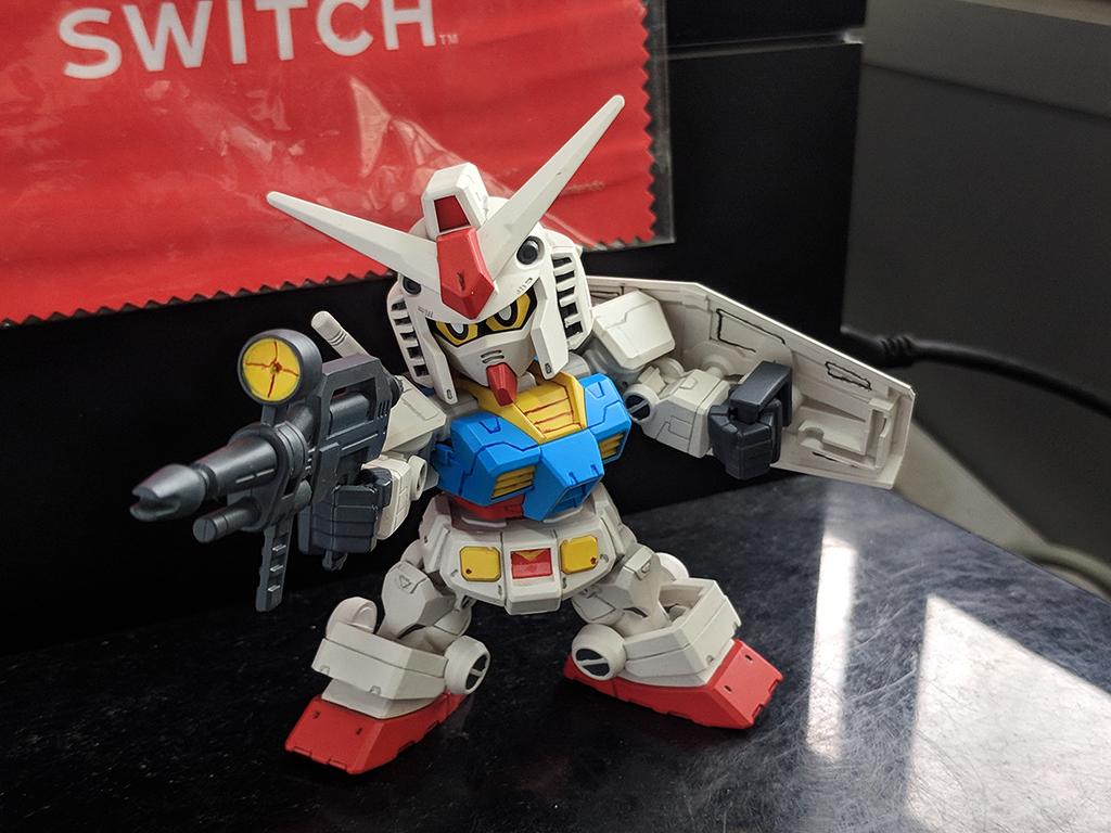 SDCS RX-78-2 Gundam & Cross Silhouette Frame 套裝