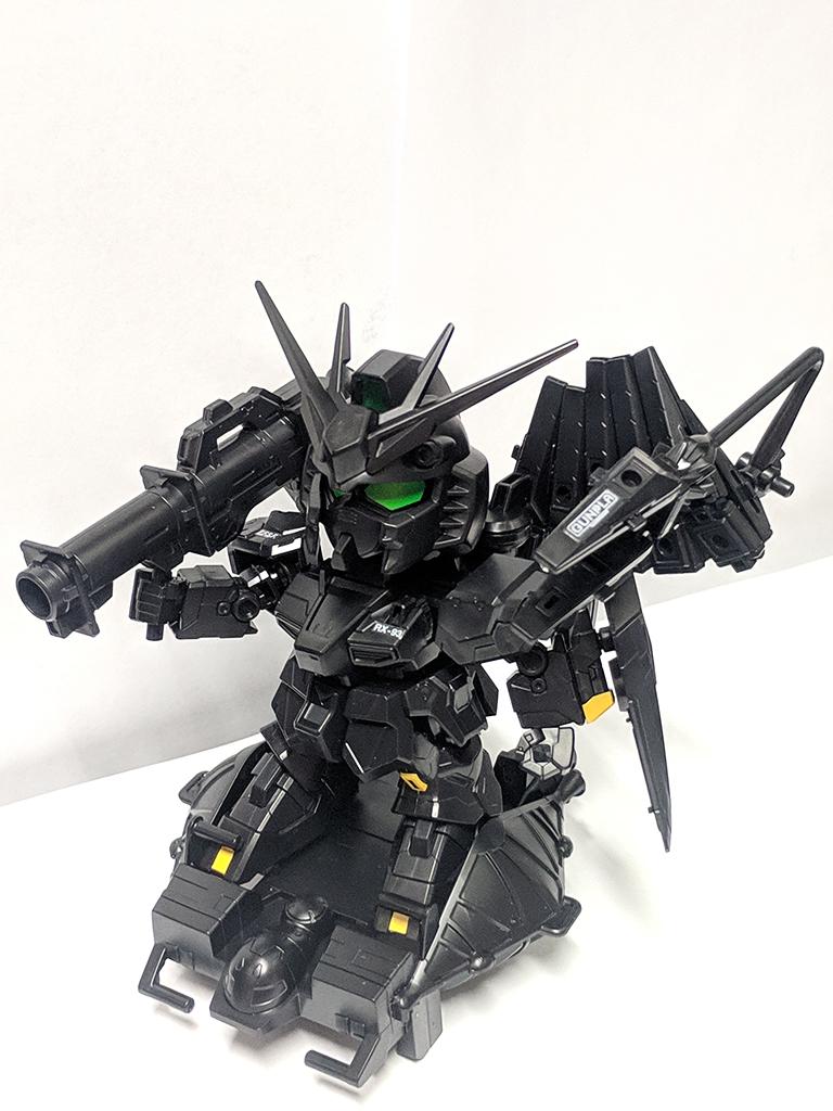 SD BB戰士[387] RX-93 Nu Gundam (Ecopla再生材料)【GBT限定】