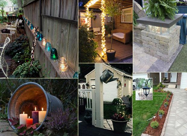 diy lighting ideas for summer patio