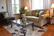 AFTER - Living Room Staging (detail)
