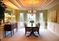 AFTER - Dining Room Staging