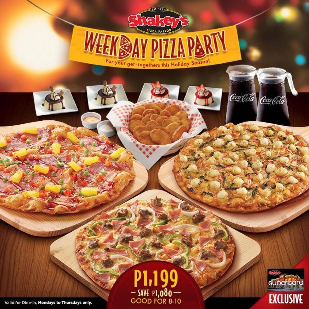 Menu Shakeys Price List Philippines