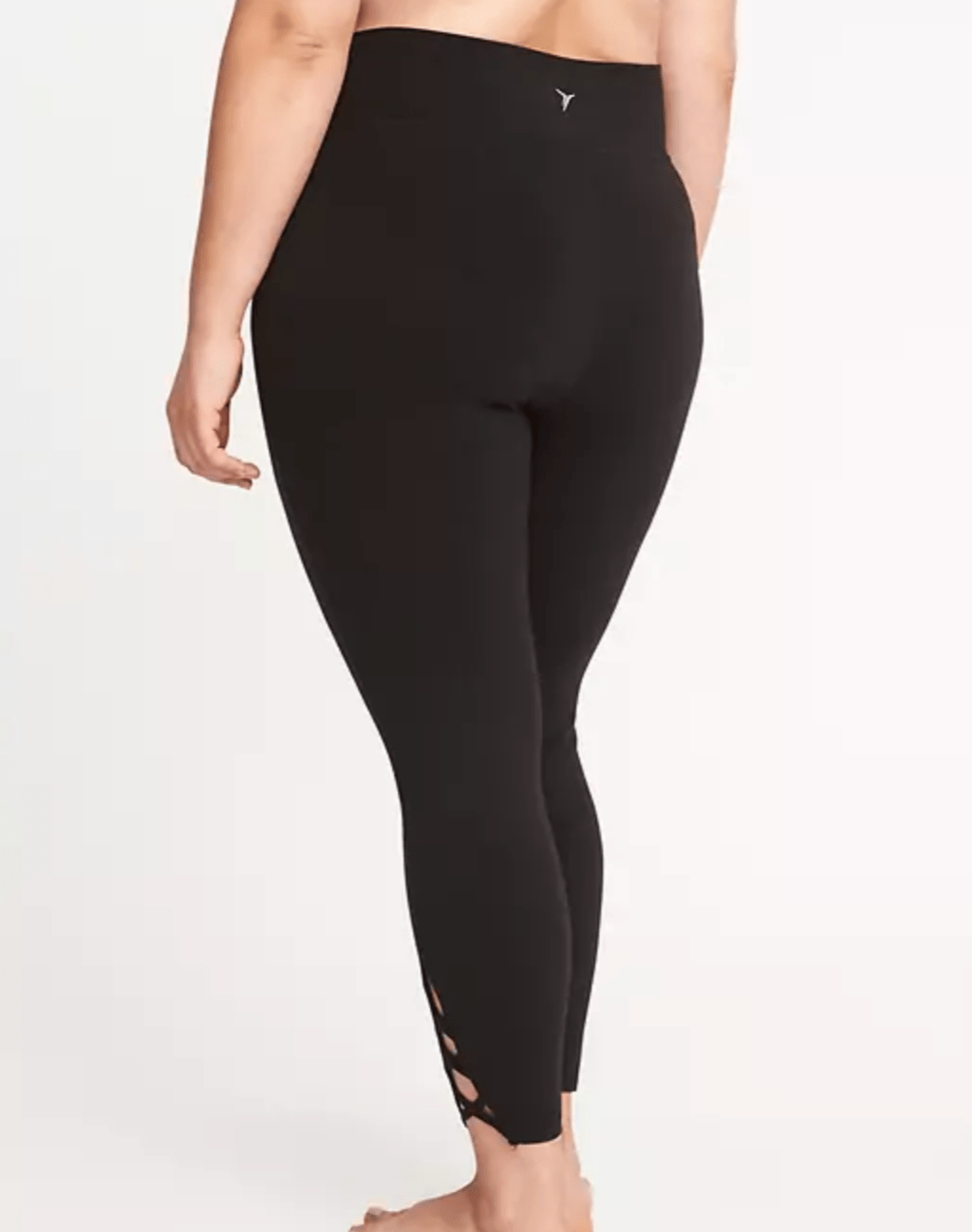8b2a7581e47eb High-Rise Plus-Size Lattice-Hem 7 8-Length Leggings by Old Navy ...