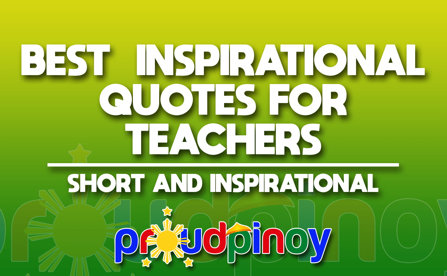 inspirational quotes for college professors Archives   Proud Pinoy