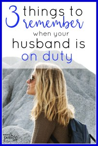 3 Things to Remember when your Husband is an On Duty Police Officer