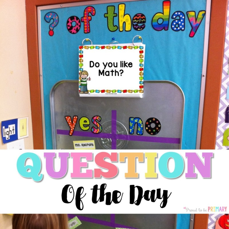 Question of the Day Board