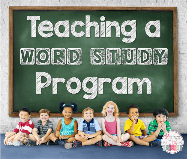 Here are instructions, curriculum, and tips for teaching a word study program. Includes free morning message ideas for teachers! #teachingtips #teachingreading #wordstudy