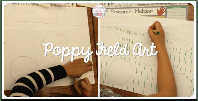 peace activities for the classroom - poppy art activities