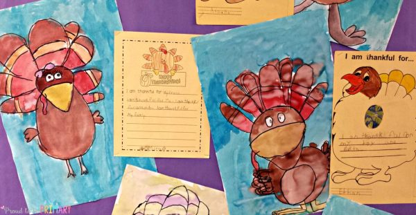 turkey time writing and art