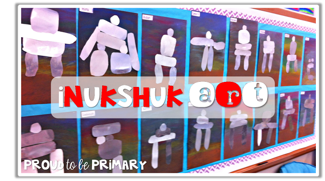 Canadian childrens books - inukshuk art bulletin board