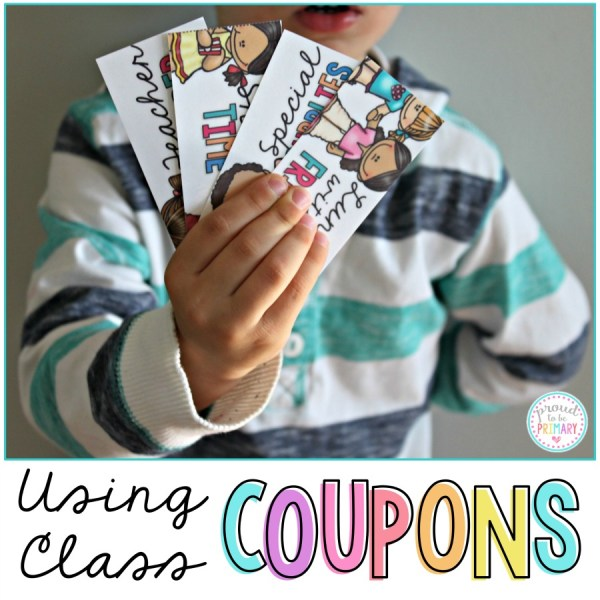 coupons for kids in the classroom
