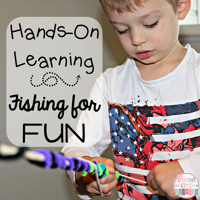Hands-On Learning Game: Fishing for FUN