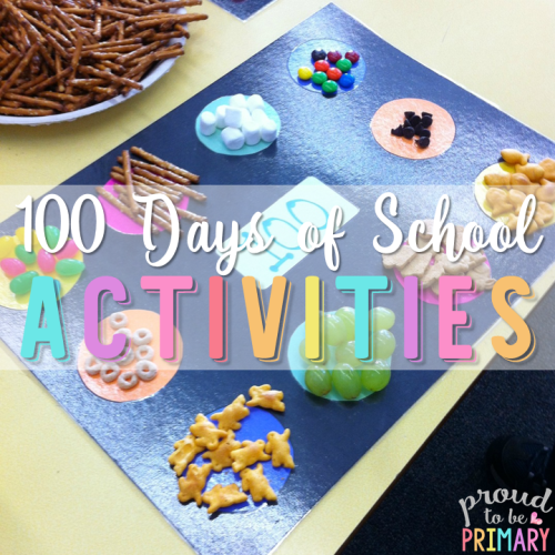 100 Days of School Activities