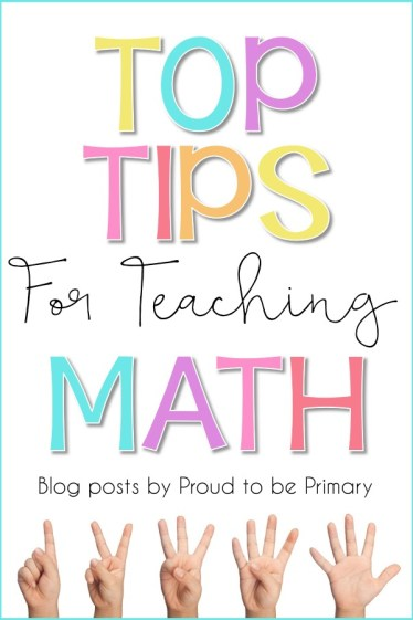 top tips for teaching math