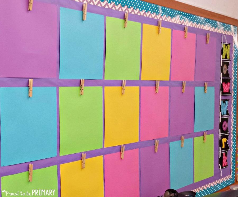 tips for new teachers - bulletin boards