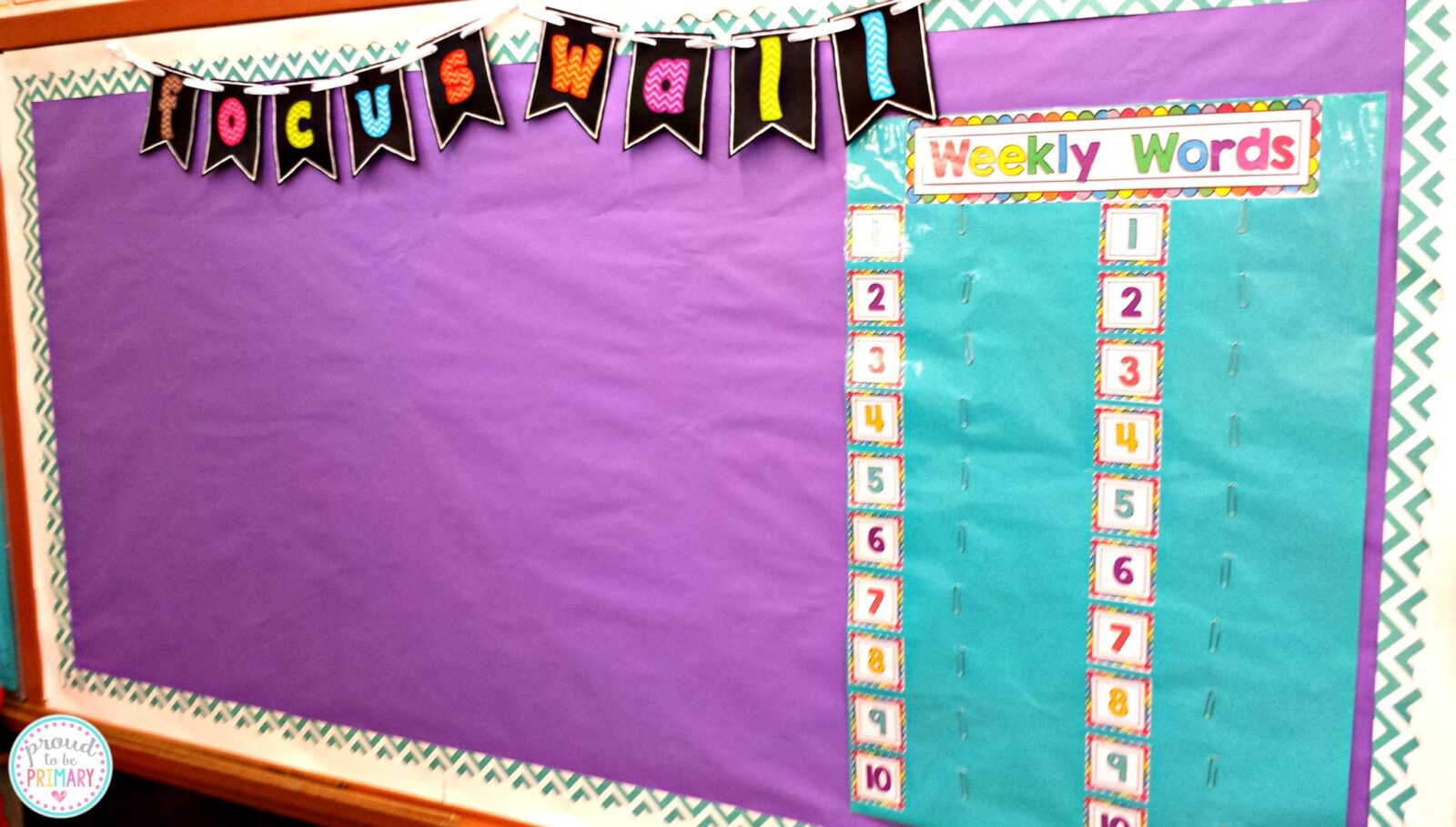 word work for the first week of school