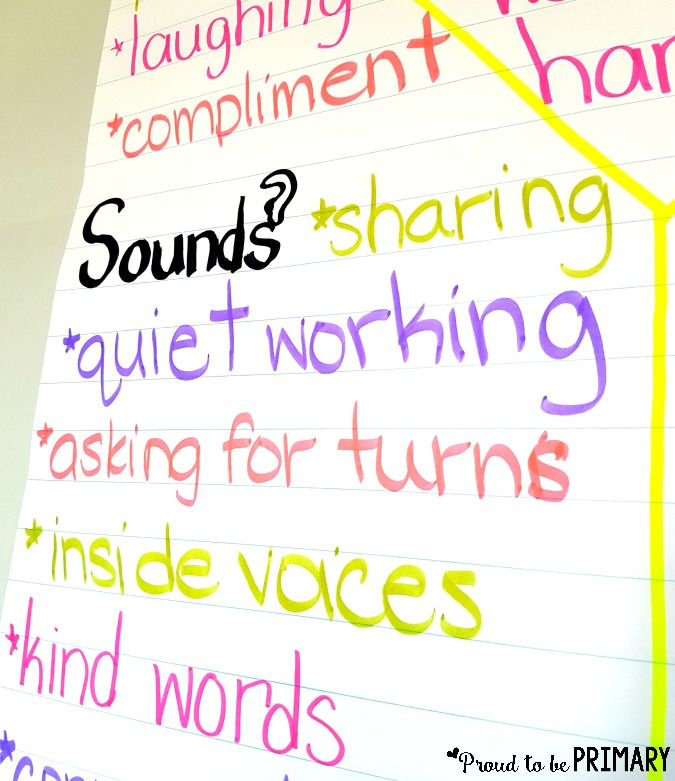 building classroom expectations - brainstorm ideas