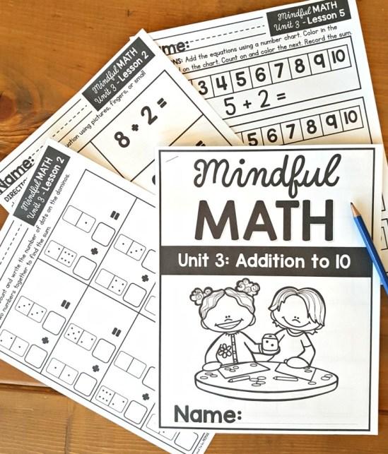 mindful math program