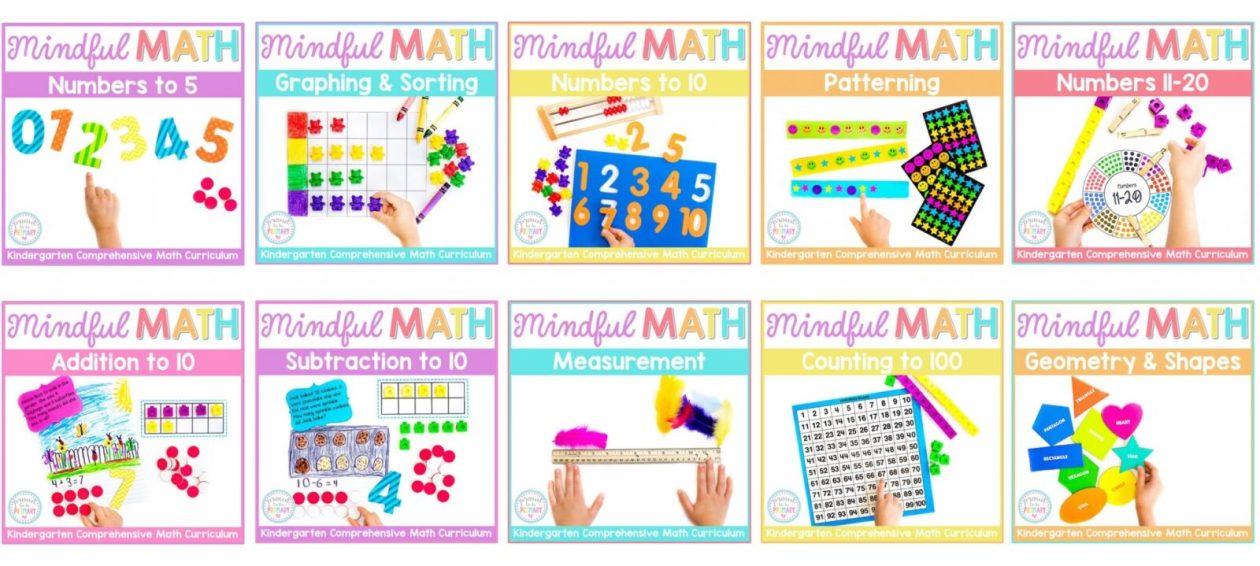 mindful math for kindergarten