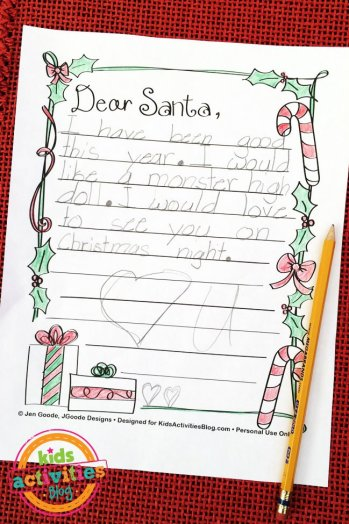 free letter to santa printable kids activities blog