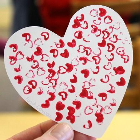 Fun-A-Day - Valentines Day Straw Art