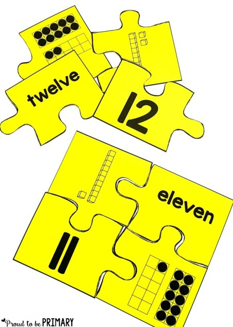 FREE number representation posters - building number sense to 20