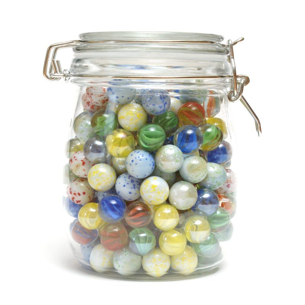 fill a jar of marbles as a classroom management strategy