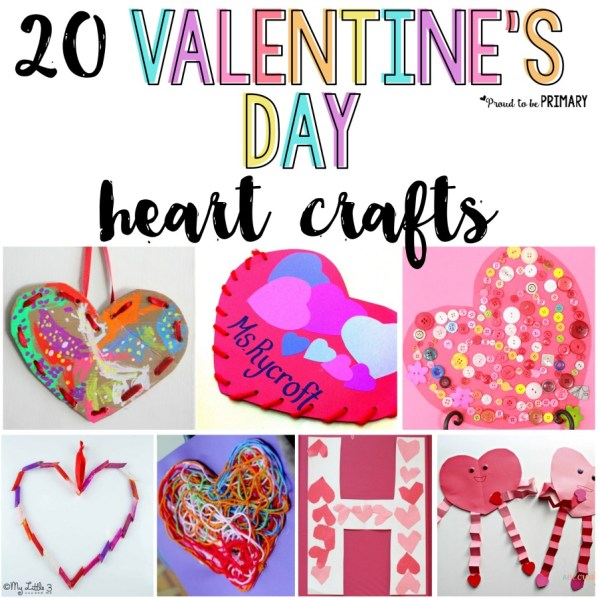 Valentine's Day arts and crafts