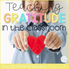 gratitude lesson plans