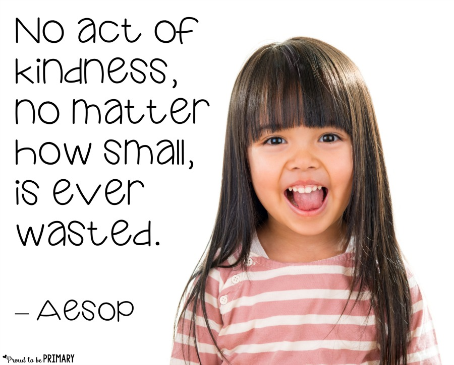 reward for kids - acts of kindness