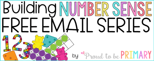 Building Number Sense - free email series