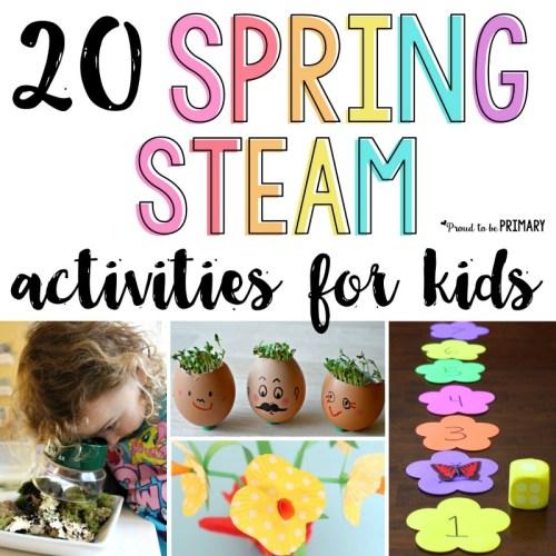Spring STEAM Activities