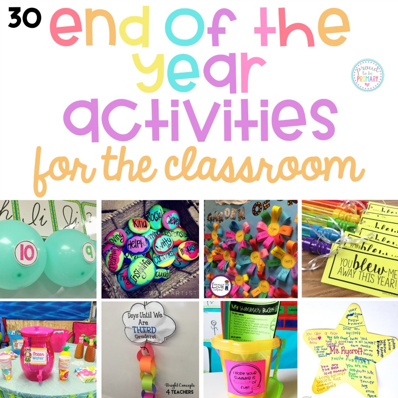 End of Year Party Class Set