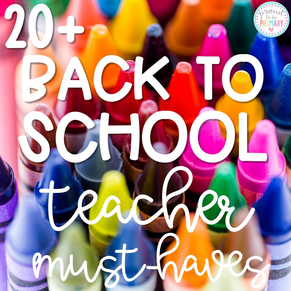classroom essentials for back to school