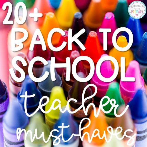 30 Back-to-School Classroom Essentials for Teachers