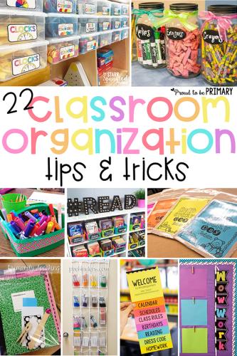 classroom organization ideas tips and tricks