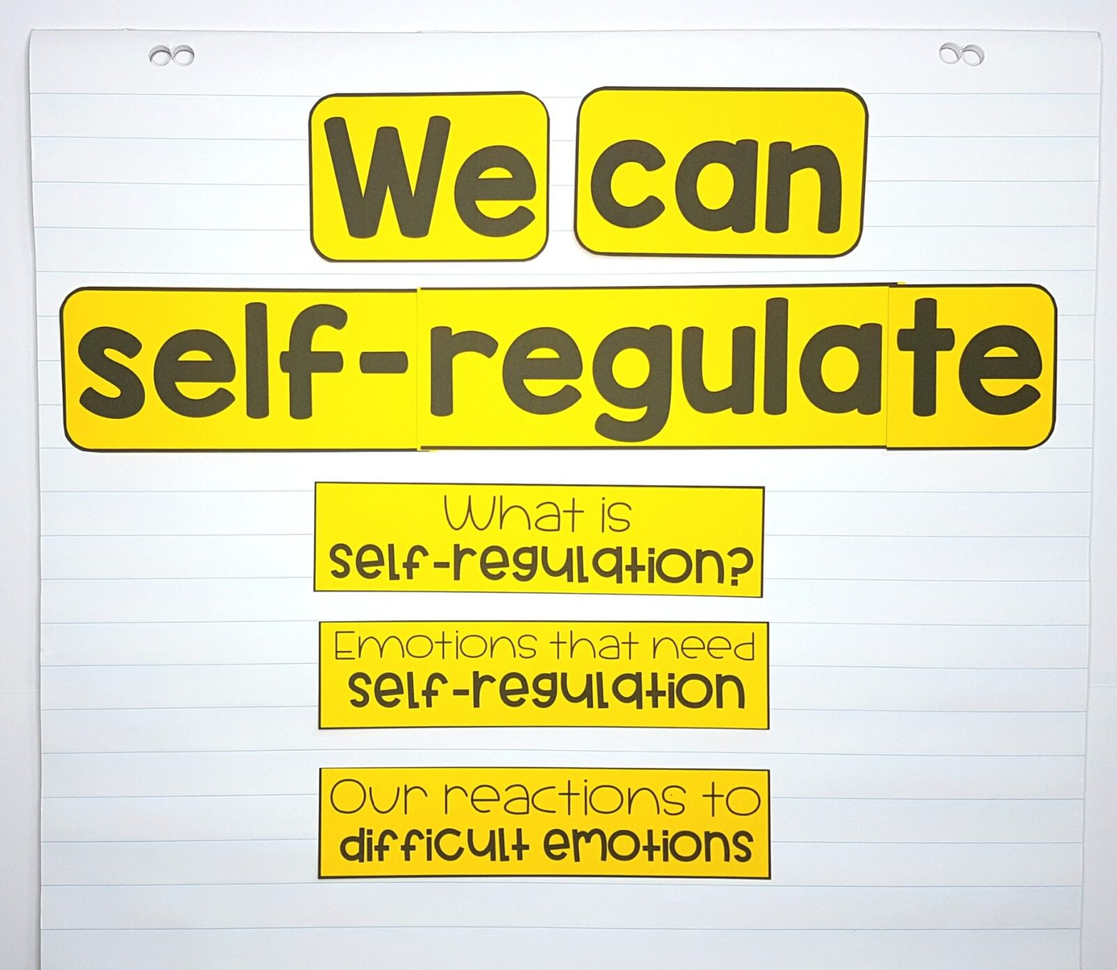 Teaching Kids To Self Regulate In The Classroom